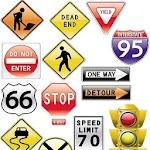 USA Traffic Symbols & Meaning