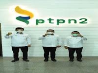 Tahun Baru, PTPN II Luncurkan Logo Baru
