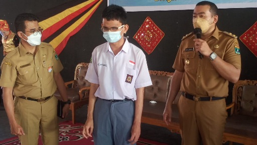 Wagub Audy Apresiasi SMKN 7 Padang Lestarikan Seni Budaya Minangkabau