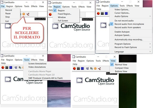 camstudio-interfaccia
