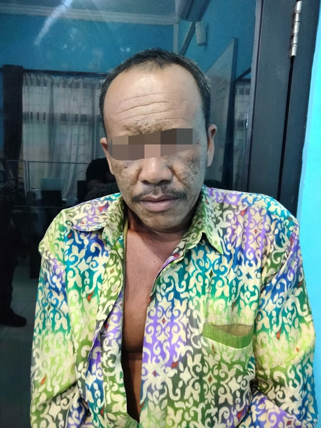 Embat 130 Janjang Sawit Milik PT CAS, Amad Pindah Tidur ke Sel Polres Tebing Tinggi