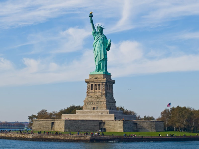 The Statue of Liberty - New York