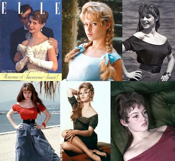 Brigitte Bardot y el escote barco, bote o bandeja