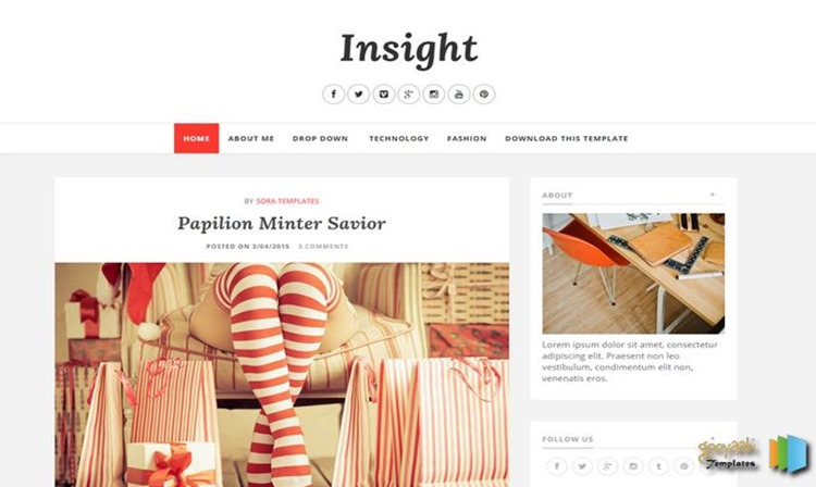 Insight-Responsive-Blogger-Template