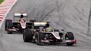 Bruno Senna HRT Cosworth F110