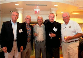 L to R, Tom Genoni, Bob Jones, Ray Hawkins, Chuck Pfeiffer, and Dave LaRochelle