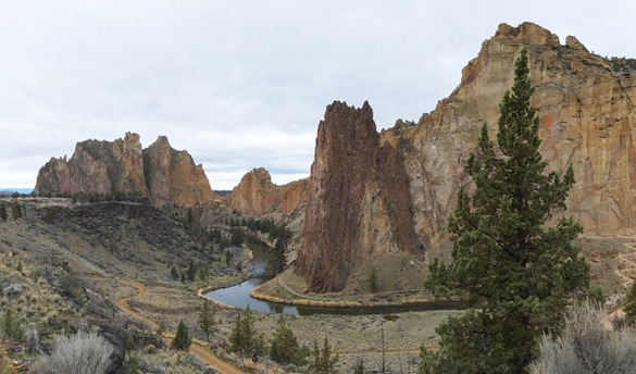 Smith Rock Panorama