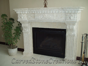 Architecture, Fireplaces, Interior, Natural Stone Fireplaces, Surrounds