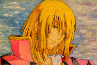 Awesome Howl from anime Howl's Moving Castle