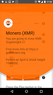 Tony Monero - Monero Miner (XMR) and Alt-coins Screenshot