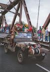 Jeep Willys corridor tour, Grave bridge - Market Garden 1994