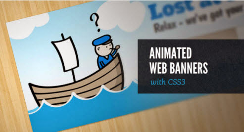 แบนเนอร์เว็บเคลื่อนไหวกับ CSS3