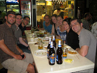 Umich Reunion goes to Hawker Stalls - Singapore