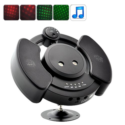 Лазерный проектор с MP3 плеером GCVGF-LT14
