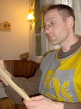 Photo: Leif versucht intelektuel zu wirken.