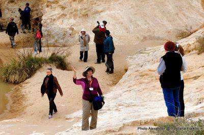 Экскурсия Пустыня Негев. Большой кратер. Гид в Израиле Светлана Фиалкова.