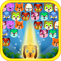 Cute Dogs Bubble Shooter icon