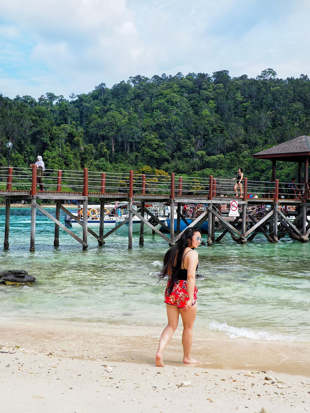 Island Kota Kinabalu tropical vacation malaysia sabah borneo outfit