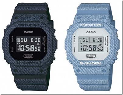 Casio G-SHOCK Denim' D Color Series DW-5600 03