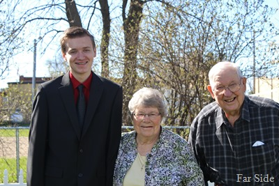 GReat Granparents Y and Adam