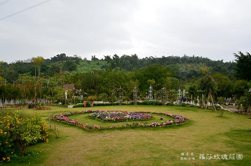 蘿莎玫瑰莊園戶外玫瑰花園