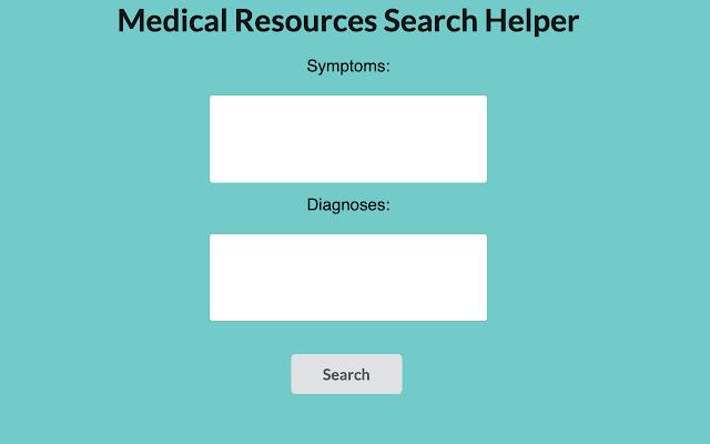 Medical Diagnosis Helper