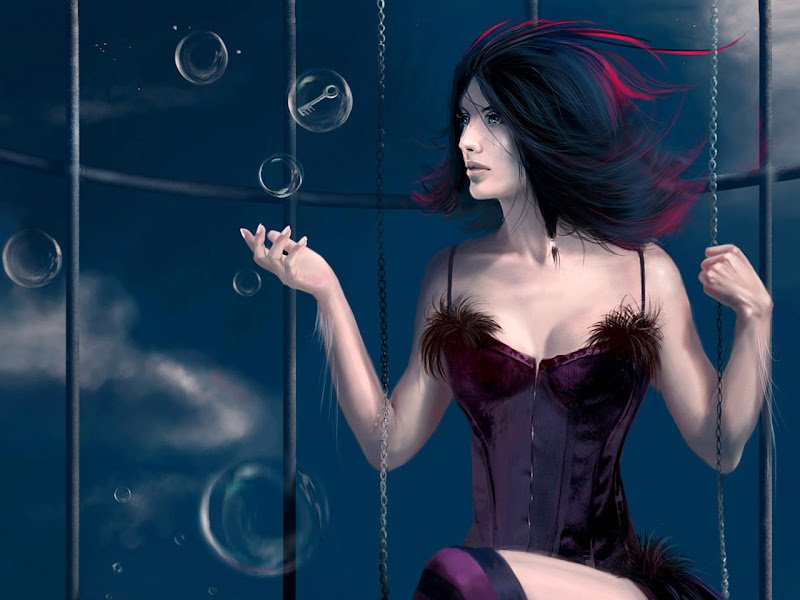 Fair Of Young Lady, Beautiful Magic Girls 3