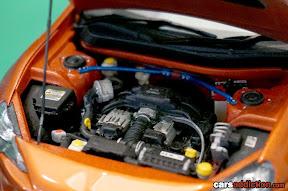 1:24 Toyota GT86 engine detail