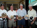1st Place Morning: Jim Black, Tampie Hall, Aaron Hansen, Richard Kuhlman
