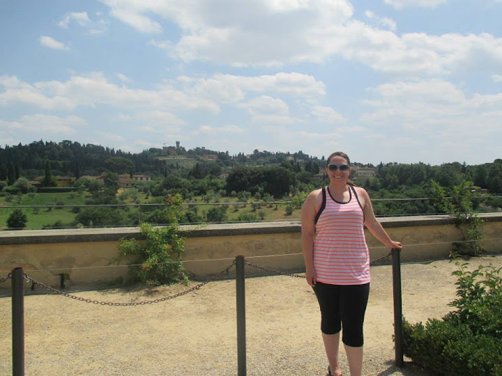 In the Boboli Gardens.  #StudyAbroadBecause... the experience changes you in the most unexpected and amazing ways