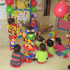 CLOWN DAY FOR PLAY GROUP WITTY WORLD (25.11.2016)