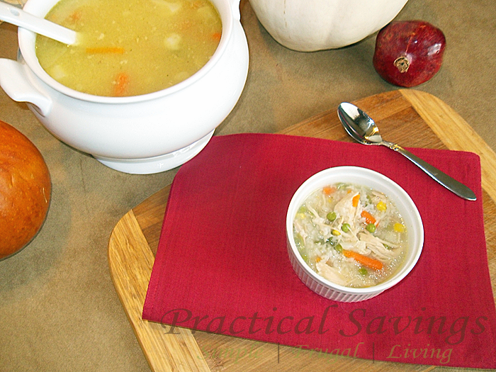 Turkey and Rice Soup {Good Cook Kitchen Experts Thanksgiving Leftovers #34}