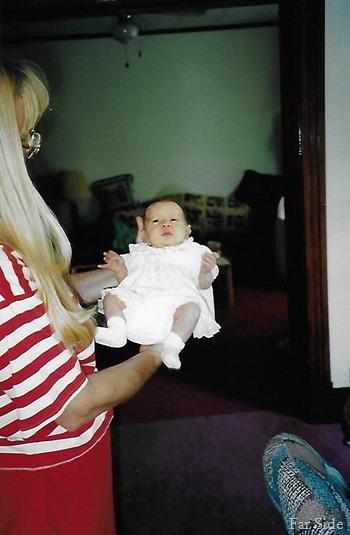 Savannah and Grandma 1996