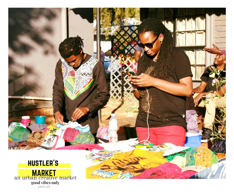 Wares,Art,Music and Chill at Hustler's Market