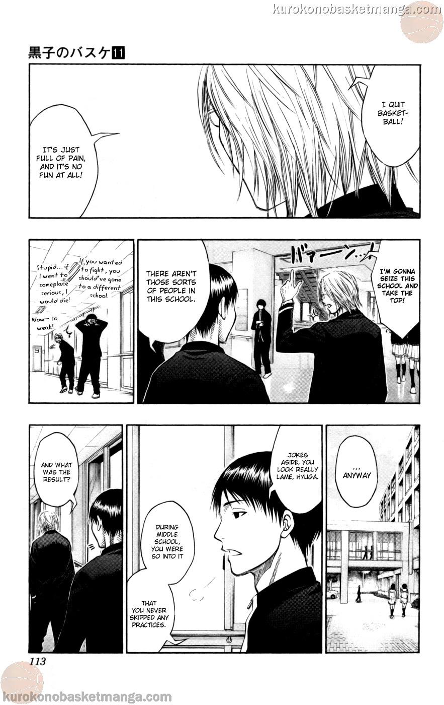 Kuroko no Basket Manga Chapter 95 - Image 09