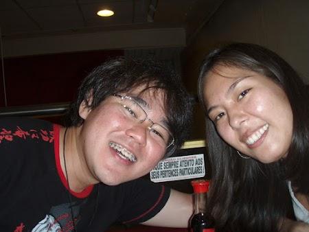 Eu, Miki e nosso amigo Shoyu
