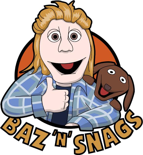 Baz n Snags logo