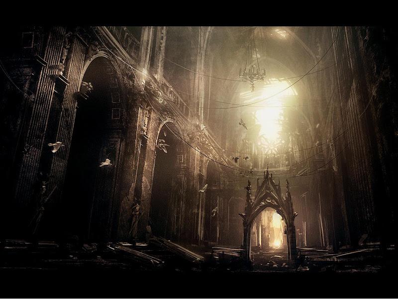 Dark Hall Of Castle, Magical Landscapes 1