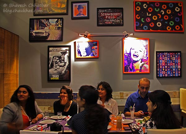 Food Bloggers' Meet at Frisco, Koregaon Park, Pune