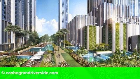 Hình 2: Ra mắt The Landmark - Vinhomes Central Park