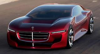 Mercedes-Benz aerodynamic limousine concept
