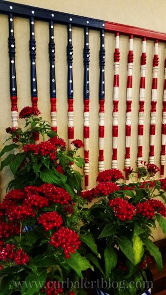 American Flag Crib Rails