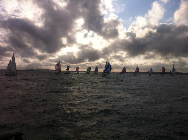 21 August 2012 - other yachts racing to the north of Brownsea Island. Photo: RNLI Poole/Dave Riley