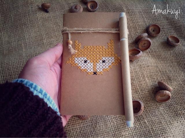 Libretas-punto-de-cruz-regalos-handmade-Navidad-2016