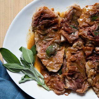 Veal Saltimbocca (Roman Sautéed Veal Cutlets With Prosciutto and Sage)