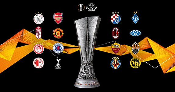 UEL Last-16 Draw Revealed As Man United Gets AC Milan, Arsenal vs Olympiacos (See Full Draw)