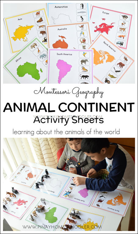 AnimalContinentsMontessori