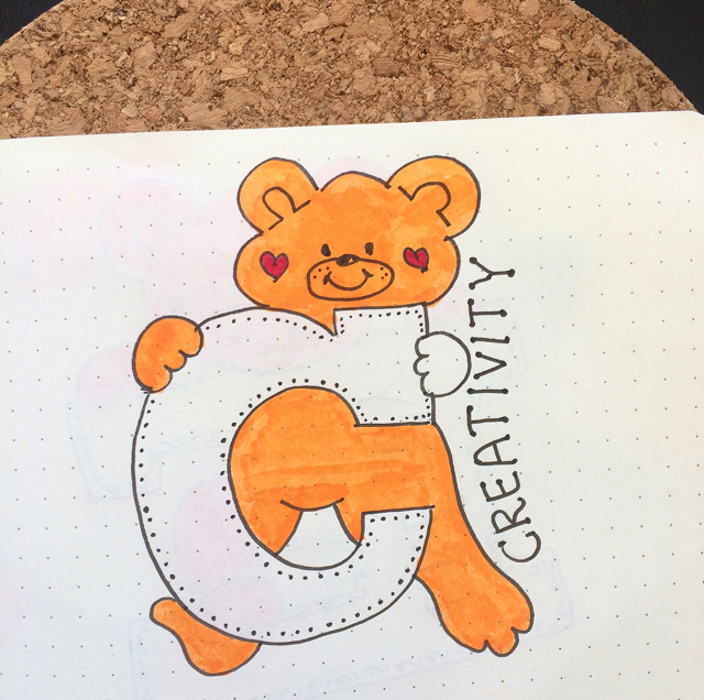 #100DaysOfDoodles   Day 27   What is your favorite word starting with Letter C?   The 100 Day Project