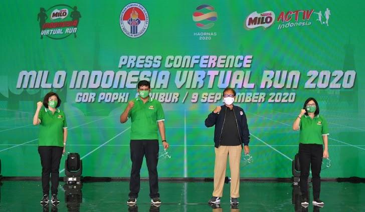 MILO Indonesia Virtual Run, Cara Seru Jaga Semangat Di Masa Pandemi !