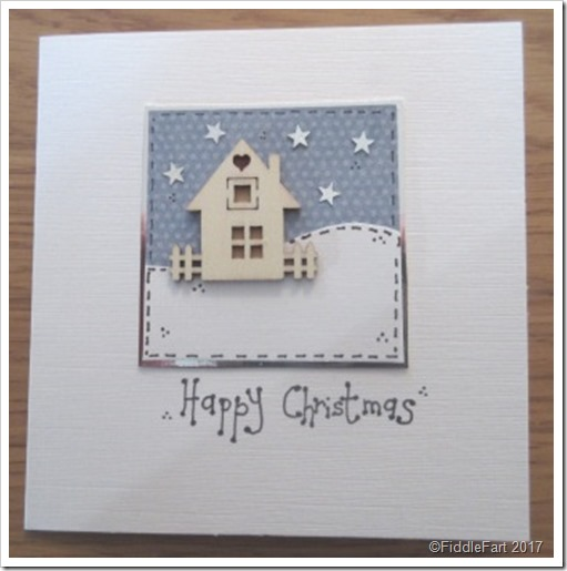 Little House Christmas Card